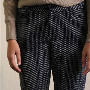 Banana Republic dark blue pencil pants